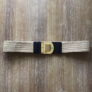 Michael Kors✨Weaved Waist Belt Size Small